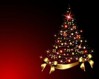 2014 Abstract Christmas tree design vector 10 - Vector Christmas ...