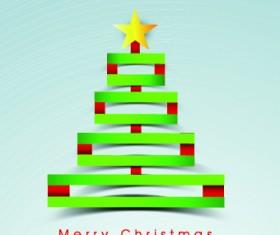 2014 Funny Christmas tree design vector 01