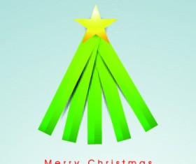 2014 Funny Christmas tree design vector 03