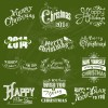 2014 New Year and christmas design elements set vector 03