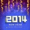 2014 New Year holiday vector background 03