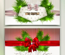 2014 christmas pine needles with bow cards 01