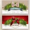 2014 christmas pine needles with bow cards 02