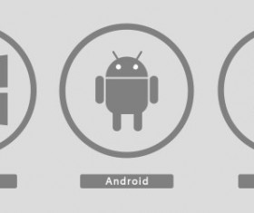 System icons PSD material