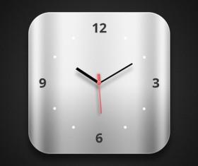 Exquisite Clock psd material