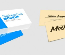Creative Business Cards psd template