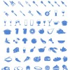 Food and Tableware psd icons