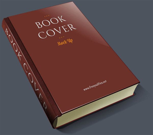 Material Design Book Cover : Vintage book cover psd material free download
