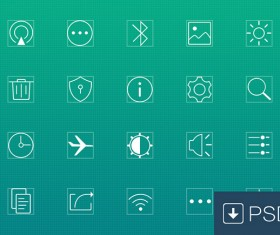 laconic psd icons