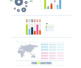 Business infographics psd material 01