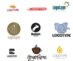Cute creative psd logos