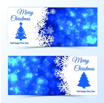 beautiful christmas cards design vector 04 - Beautiful Christmas Cards