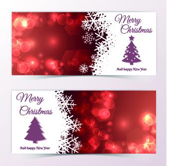 beautiful christmas cards design vector 05 - Beautiful Christmas Cards