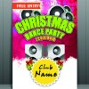 Christmas party flyer vector template 02