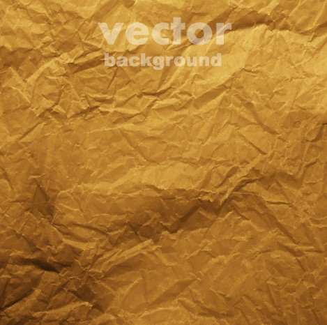 Colored crumpled paper vector background 02 - Vector ...