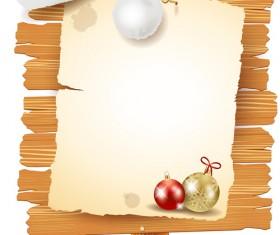 Creative Christmas Billboard vector 02
