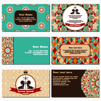 Retro geometry business cards vector 02 free download retro geometry business cards vector 02 reheart Gallery