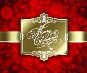Christmas big sale creative design vector background set 08