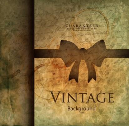 Grunge Vintage Background Vintage Style Grunge Vector