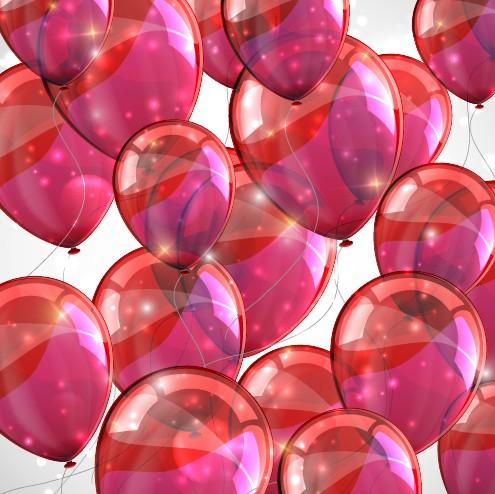 Background Transparent Color Transparent Colored Balloons