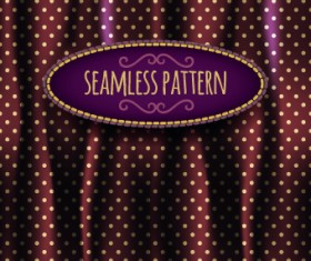 Luxury silks and satins pattern background vector 02