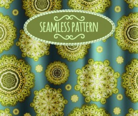Luxury silks and satins pattern background vector 05