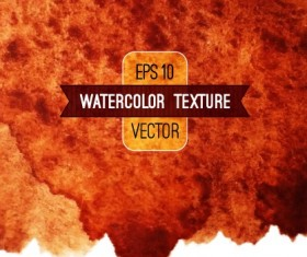 Abstract watercolor texture background vector 03