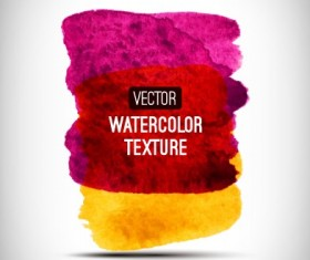 Abstract watercolor texture background vector 05