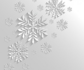 2014 Merry Christmas snowflake background graphics 03
