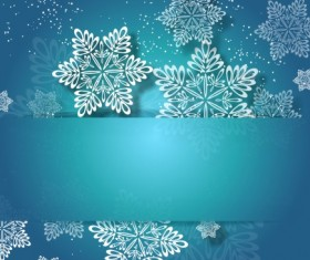 2014 Merry Christmas snowflake background graphics 04