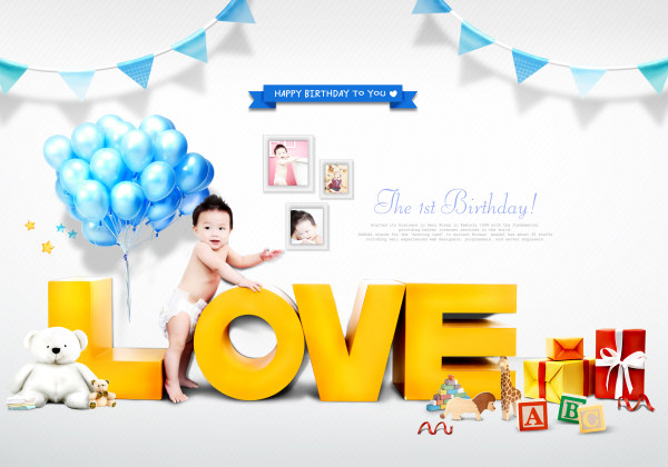 Creative Children Photography psd template 01 - PSD Templates free ...