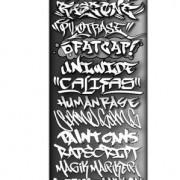 Link toVintage style graffiti fonts