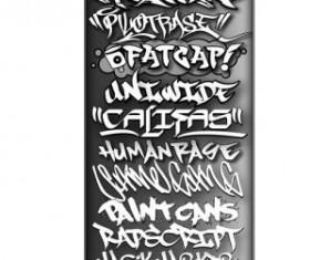 Vintage Style Graffiti Fonts