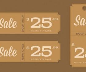 Retor sale psd labels