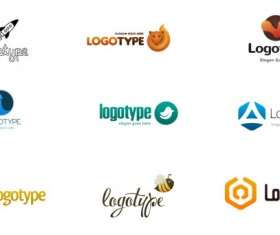 Creative modern logos psd material