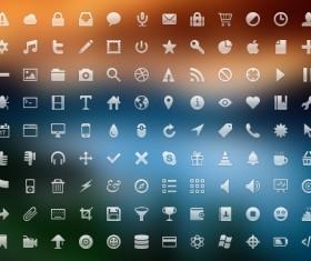 Small fine web icons graphics