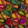 Abstract color patterns vector graphic 05