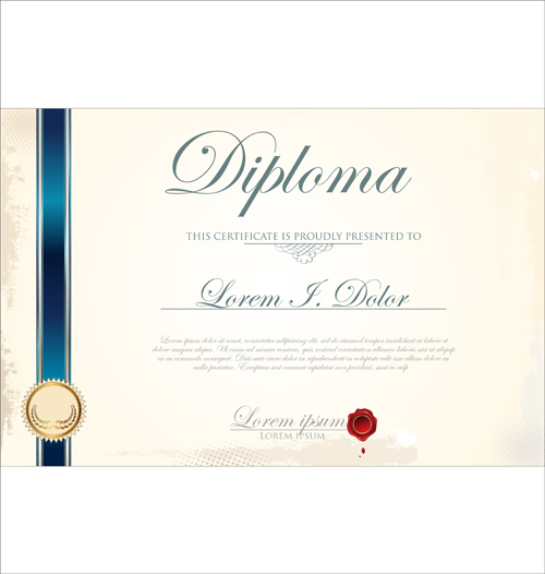 Best certificate template design vector 01 vector cover free best certificate template design vector 01 yelopaper Gallery