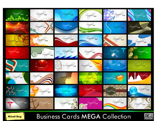 cards creative design collection 02 download name business cards ...