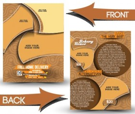 Business flyer and cover brochure design vector 07