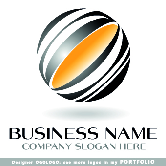 Modern business logos creative design vectors 09 - Vector Logo ...