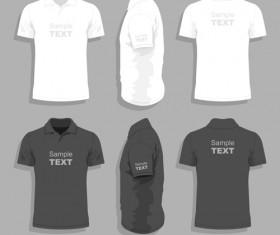 Men clothes design template vector set 10