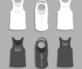 Men clothes design template vector set 11