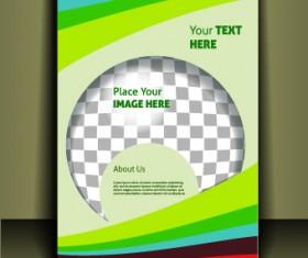 Cover brochure design vector set 02
