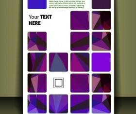 Cover brochure design vector set 05