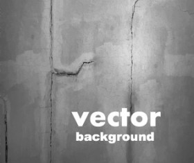 Crack on the wall background vector graphic