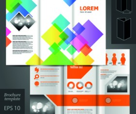 Creative business brochure and booklet design vector 01