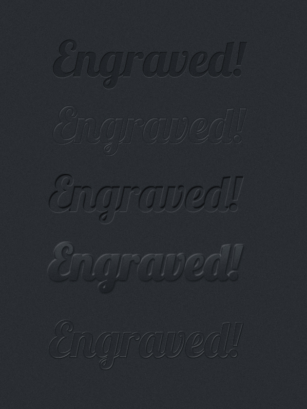 Engraved effects text Photoshop Styles free download