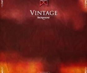 Garbage vintage background vector design 01