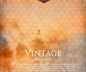 Garbage vintage background vector design 03